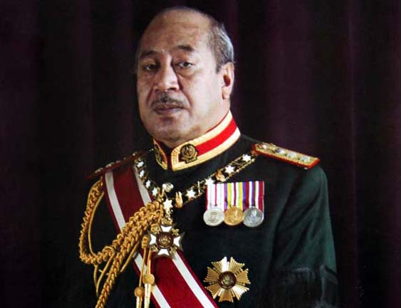 Politica Internacional The-Late-King-George-Tupou-V-Tonga-Govt-Image